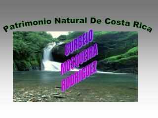 Patrimonio Natural De Costa Rica
