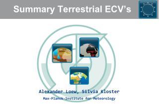 Summary Terrestrial ECV's