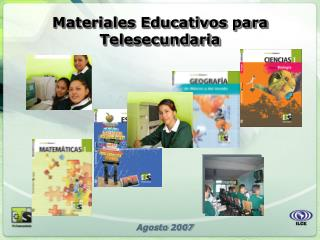 Materiales Educativos para Telesecundaria