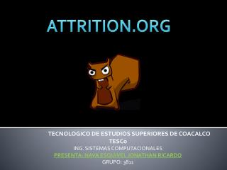 ATTRITION.ORG