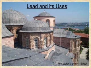 The Zeyrek Camii in Istanbul