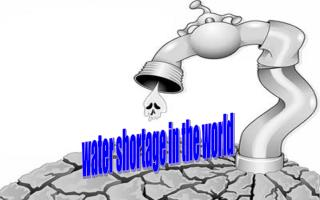 water shortage in the world