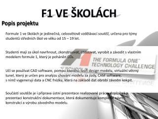 F1 ve školách