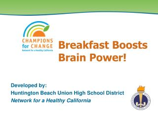 Breakfast Boosts Brain Power!