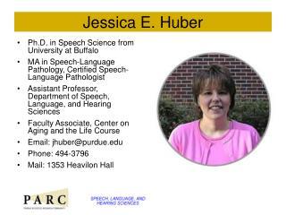 Jessica E. Huber