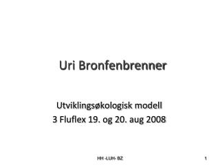 Uri Bronfenbrenner