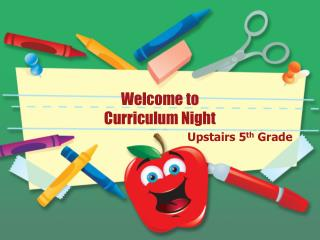 Welcome to Curriculum Night