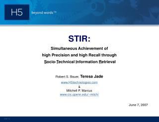 STIR: