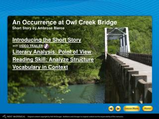 An Occurrence at Owl Creek Bridge Short Story by Ambrose Bierce