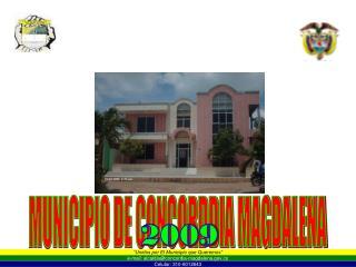 MUNICIPIO DE CONCORDDIA MAGDALENA
