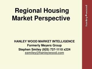 Regional Housing Market Perspective