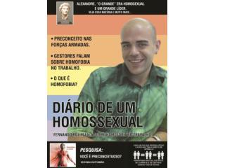 Sumário Pagina: 01  - Homofobia é crime Pagina: 02  -  Diário de um Homossexual
