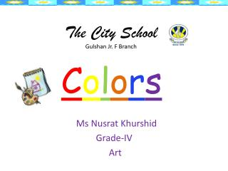 The City School Gulshan Jr. F Branch