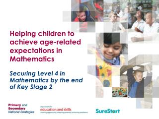 Helping children to achieve age-related expectations in Mathematics
