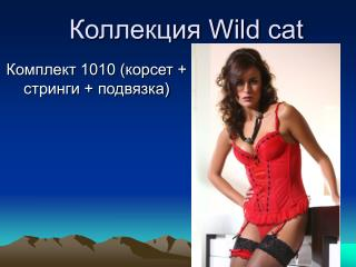 Коллекция Wild cat