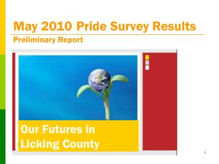 May 2010 Pride Survey Results Preliminary Report