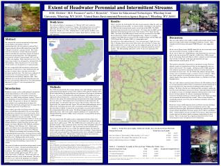 Extent of Headwater Perennial and Intermittent Streams