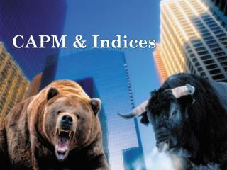 CAPM & Indices