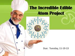 The Incredible Edible Atom Project