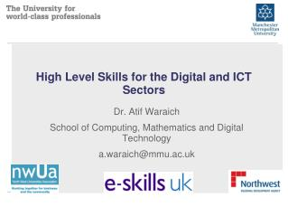 High Level Skills for the Digital and ICT Sectors