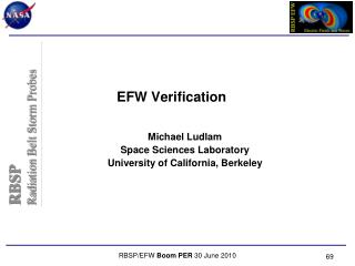 EFW Verification