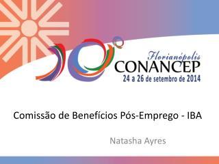 Comissão de Benefícios Pós-Emprego - IBA