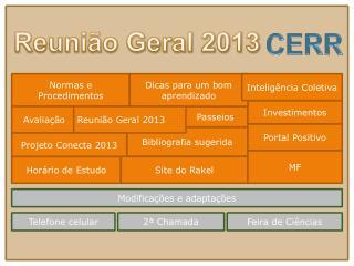 Reunião Geral 2013