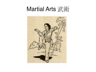 Martial Arts  武術