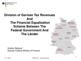 Andrea Gebauer German Federal Ministry of Finance