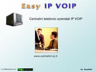 Centralini telefonici aziendali IP VOIP