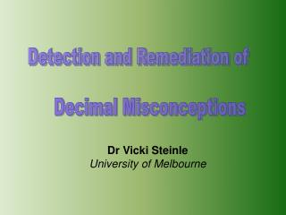 Detection and Remediation of