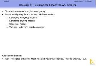 Hoofstuk 23 – Elektroniese beheer van ws.-masjiene