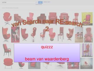 van Search naar RE-search 2
