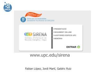upc/sirena