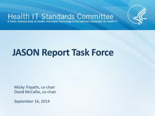 JASON Report Task Force
