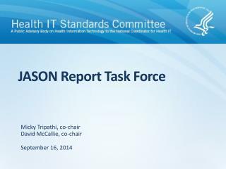 JASON Report Task Force
