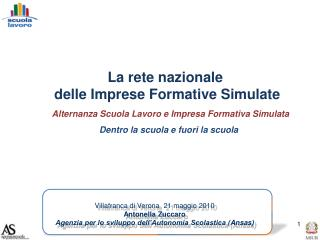 La rete nazionale  delle Imprese Formative Simulate