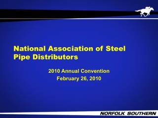 National Association of Steel Pipe Distributors