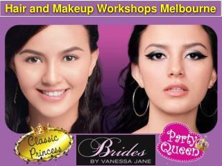Hair and Makeup Workshops Melbourne