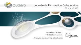 Journée de l'Innovation Collaborative