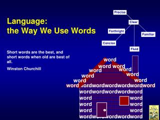 Language: the Way We Use Words