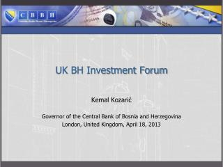 UK BH Investment Forum