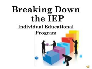 Breaking Down the IEP I ndividual  E ducational  P rogram