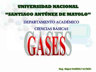 UNIVERSIDAD NACIONAL �SANTIAGO ANT�NEZ DE MAYOLO�