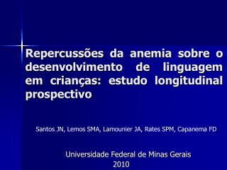 Universidade Federal de Minas Gerais         2010
