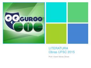 LITERATURA Obras  UFSC 2015