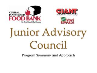 Junior Advisory Council