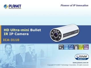 HD Ultra-mini  Bullet  IR  IP Camera