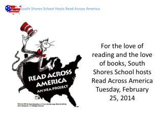 South Shores School Hosts Read Across America