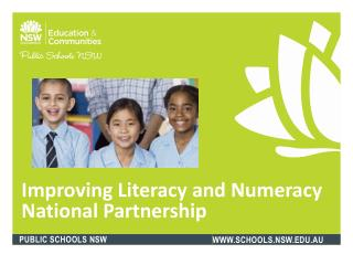 Improving Literacy and Numeracy National Partnership